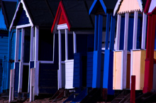 Beach huts, Southend